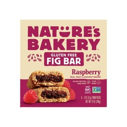 [047495710656] Nature's Bakery Cookies Bar Fig Raspberry GF 6c