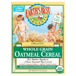 [023923900172] Earth's Best Cereal Baby Oatmeal OG