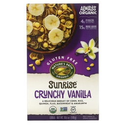 [058449771555] Nature's Path Cereal Sunrise Vanilla Crunchy GF