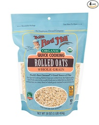 [039978029539] Bob's Red Mill Oats Rolled Quick OG 16oz