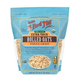 [039978039545] Bob's Red Mill Oats Rolled Thick Extra OG 32oz