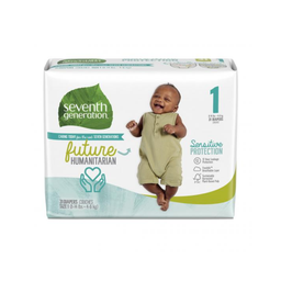 [732913440600] Seventh Generation Diapers 1 Stage 8-14# 40c