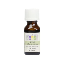 [051381911096] Aura Cacia Oil Essential Chamomile .5oz