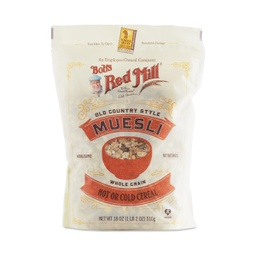 [039978501035] Bob's Red Mill Cereal Muesli 18oz
