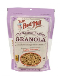 [039978031884] Bob's Red Mill Cereal Granola Cinnamon Raisin 12o-
