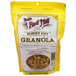 [039978002853] Bob's Red Mill Cereal Granola Honey Oat 12oz