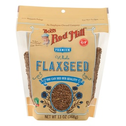 [039978034205] Bob's Red Mill Flax Seed Brown GF 13oz