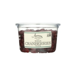 [655852001639] Aurora Natural Cranberry Whole 9oz