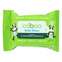 [628451738022] Caboo Baby Wipes Bamboo 30c
