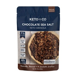 [857227007691] Keto & Co Granola Chocolate Sea Salt 10oz