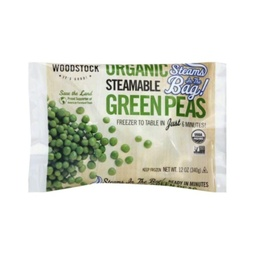 [042563015169] Woodstock Frozen Peas Green Steam OG 12oz